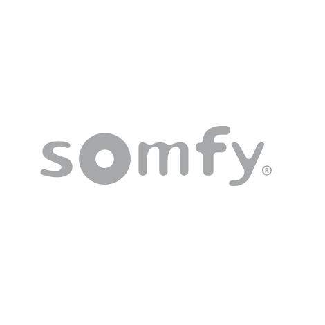 Frame zilver voor Somfy Smoove muurzender