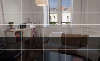 Camera zone selectie