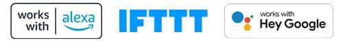 Geschikt voor: Amazon Alexa, Google en IFTTT